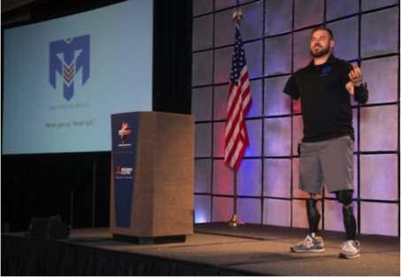 Awards Banquet Keynote Speaker, Retired U.S. Army Staff Sargeant Travis Mills