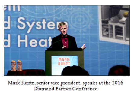 Mark Krunz speaks at the 2016 Diamond Partner Conference